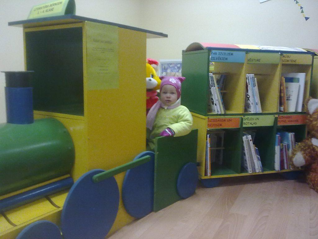 Bērnu stūrītis Višķu bibliotēkā