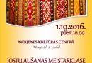 Interesenti tiek aicināti uz jostu aušanas meistarklasi 1.oktobrī Naujenē